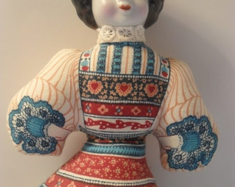 Tuch Gibson Girl Doll Beutel