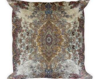 Dalmatic Persian Rug Throw Pillow