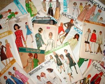 Twenty Three Size 14 Bust 36 Patterns *Vogue*Simplicity*Butterick* McCalls* Dresses Skirts Coat Pants