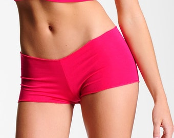 Comfortable Panties - Boyshorts Pink -Full Coverage