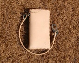 Wallet model 116 and lanyard set Exchange mail bag leather