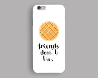 Waffle Moon Phone Case, iPhone 5S Case, iPhone 6S Plus, iPhone 7 Case, iPhone 8 Plus Case, Samsung Galaxy S8 Case, Galaxy S7