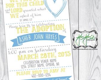 Adoption Celebration Invitation