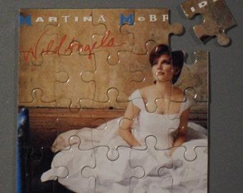 Martina McBride CD Cover Magnetic Puzzle