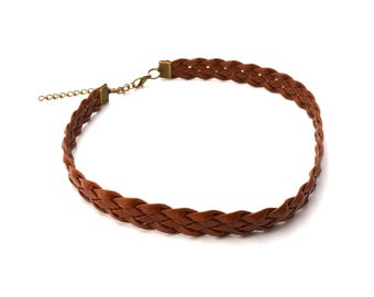 Brown Choker