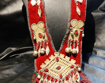 Fabulous Tribal Necklace Afghani Berber Bedouin Vintage