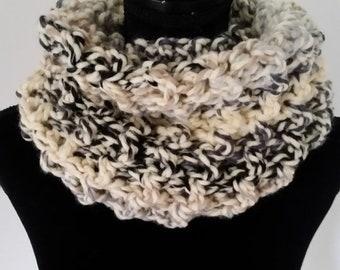 10.00 OFF Infinity Scarf - Scottish Inspired Scarf, Cowl Scarf, Claire Infinity Scarf,  Scarves for Women, Crochet Handmade, Unisex Scarf,