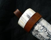 Leather belt frog for a d...