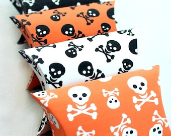 Skull and Crossbones Printable Pillow Boxes