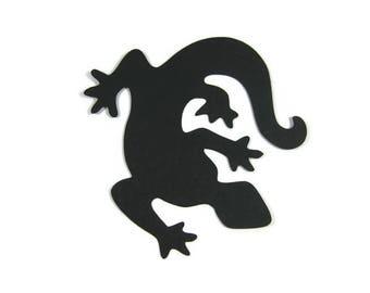 Paper Gecko Die Cut Set of 10