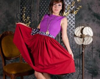 zurück zu 1950 voll Rock Kleid