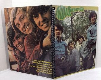 The Monkees Album Cover Notebook Handmade Spiral Journal