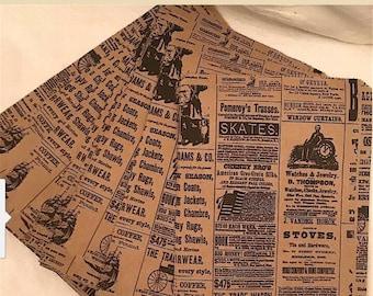 Newsprint Bags