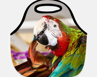 Macaw Lunch Tote