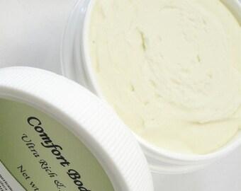 Shea Butter Body Butter, Natural Vegan
