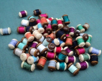 Dolls House Miniatures  - 1/12th Cotton Reels x6 (Assorted)
