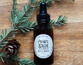 BEARD OIL: Pine,Cedarwood,Beard Conditioner,Private Stache,Eagles Breath,Beard Oil,Gifts for Him,Beard Grooming