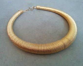Wedding Necklace, Wedding Jewelry, Bridal Necklace, Gold Collar Necklace, Bridal Jewelry, Gold Necklace, Collar Necklace, Statement Necklace