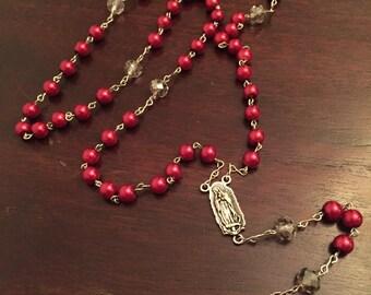 Custom Hand made beaded rosary