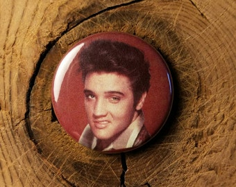 "Lil' Pocket Elvis (1-1/4"" Pinback Button or Magnet)"