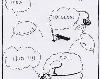 From Idea to Idiot CARTOON