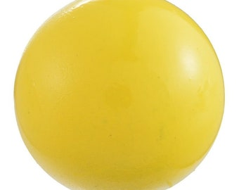 1 x 16 mm yellow music of pregnancy maternity Bell Mexican Bola ball