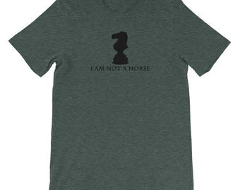 Funny Chess Shirt, I Am Not A Horse, Knight Chess Set, Chess Pieces, Gift For Chess Player