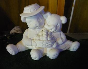 Ready to Paint Cuddles Pilgram Bears