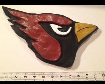 Cardinals football fish ornament