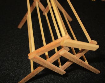 1/12th scale Dollhouse Quilt Hanger