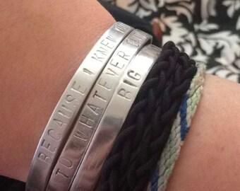 Custom Bracelets!