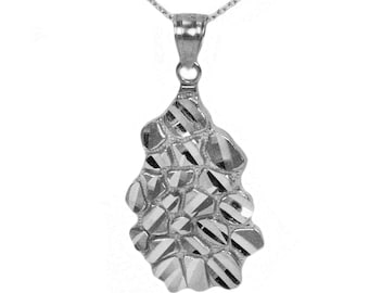 Sterling Silver Nugget Necklace