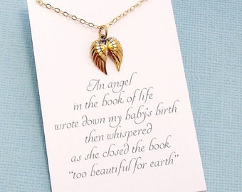 Miscarriage Necklace | Bereavement Gift, Condolence Gift, Condolence Gifts, Infant Loss, Miscarriage Gift, Keepsake, Miscarry Gift | R06