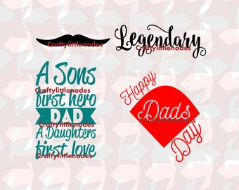 Fathers Day Quotes SVG STUDIO Ai EPS Scalable Vector Cutting File Commercial Use Instant Download Cricut Explore Silhoutte Cameo Cutting