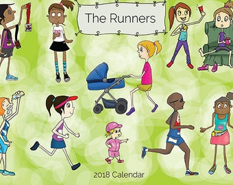 SALE  The Runners 2018 Calendar