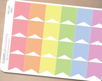 Page Flags Bright    Reminder Planner Stickers Perfect for Erin Condren, Kikki K, Filofax and all other Planners