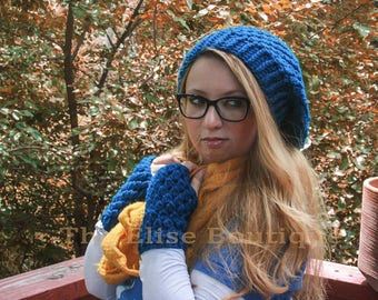 Crochet Pattern/Slouchy Hat