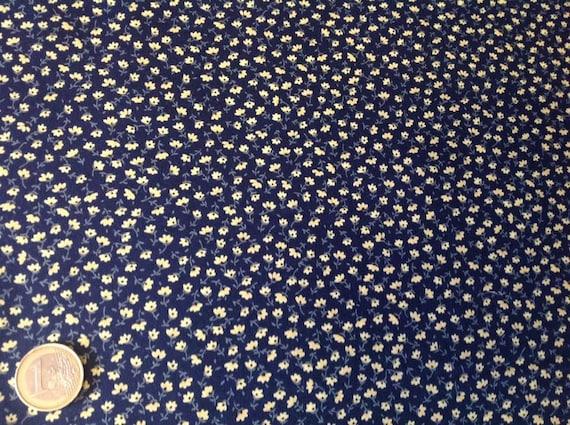 High quality cotton poplin, floral print