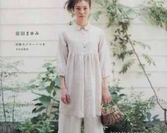 Daily Natural Clothes - Japanese Sewing Pattern Book for Women - Mayumi Maeda - B15