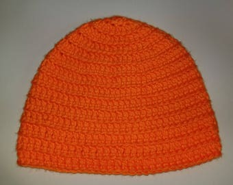 Hunting Fluorescent Orange Beanie ** Great for hunting!