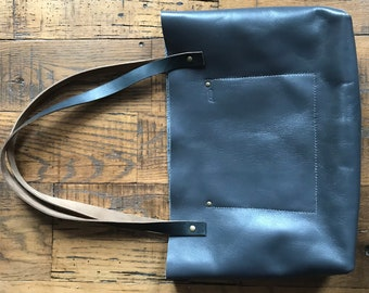 Leather Tote No. 2