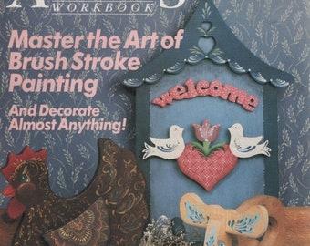 BTS Decorative Artists Workbook Magazine Patterns Inside JUNE 1988 Brush Strokes