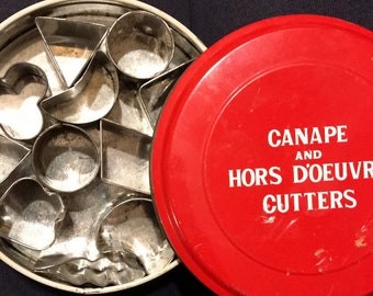 Canape and Hors Doeuvre Cutters Made in Japan