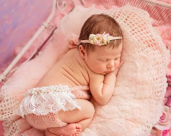Newborn Girl Photo Outfit, Baby Girl Photo Prop, Baby Photo Props, Infant Props, Baby Girl Props, Newborn Photo Props, Baby Shower Gift