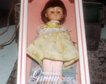Vintage (c.1978) Vogue The World of Ginny Doll #301933. Doll is in original box which appears unopened.
