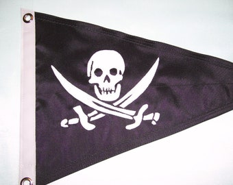 Jolly Roger Burgee(Boating Flag)