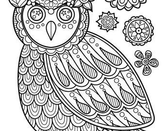 Iron-On Transfer - Thaneeya Owl
