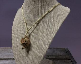Miniature Teapot Necklace