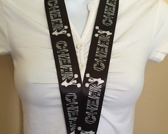 Cheerleader lanyard, ID holder, key holder