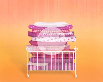 Princess and the pea digital background photography